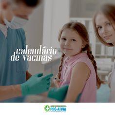 Fique atento as datas de vacinação e mantenha o cartão de vacina em dia! Cuidar da saúde vem em primeiro lugar ;)  #ProAtiva #SaúdeOcupacional #Ipatinga