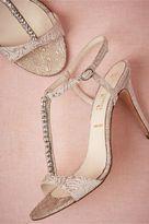 BHLDN Brocade Heels
