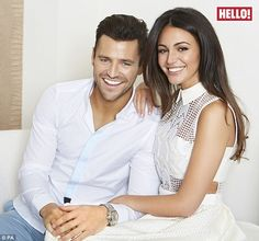 Michelle Keegan reveals she will change her name when she marries Mark #dailymail