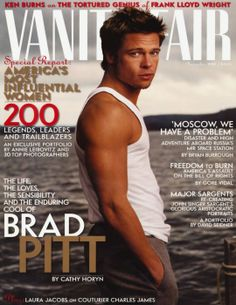 Three and a half years later, for his death-personified drama Meet Joe Black, Pitt was back on the cover—this time sans beard and hair but with a new soul patch.