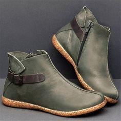 Schnür Boots Damenschuhe 0769 Ital-design
