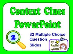 Multiple Choice Context Clues Worksheets - context clues on ...math worksheet : reading context clues on pinterest context clues context : Multiple Choice Context Clues