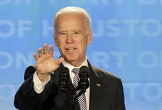 "Vice President Joseph R. Biden took a swipe Thursday at the Clinton administration — and at possible presidential rival Hillary Rodham Clinton — by saying the middle class declined ""all through the '90s."""