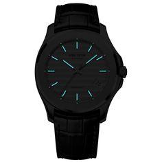 Never fear the dark night. Swiss Watch Brands, Water Patterns, Dark Night, Deep Blue, Gradient Color, Michael Kors Watch, Watches, Wrist Watches, Tag Watches