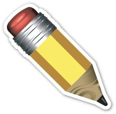 Pencil | EmojiStickers.com