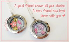 Origami Owl Pair of Best Friends Forever Lockets www.owllockets.com