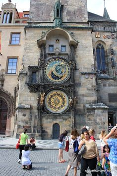 The Astronomical Clock in Prague - so awesome if you haven't seen it.