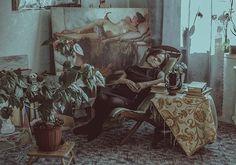 Portrait of painter Vera Bondare