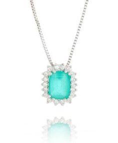 colar turmalina com corrente veneziana semi joias modernas
