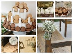 Rustic and Vintage Wedding Styled by Cakes & Co