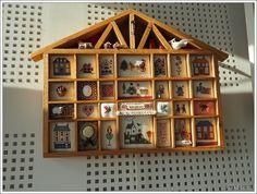 Créa'Fil : exposition# Le casier Maison de Lucie