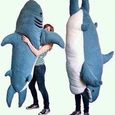 Life size shark plush