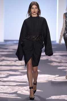 NY fashion week. Vera Wang Pret a Porter Fall Winter 2013-14