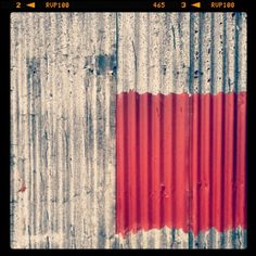 Corrugated Red