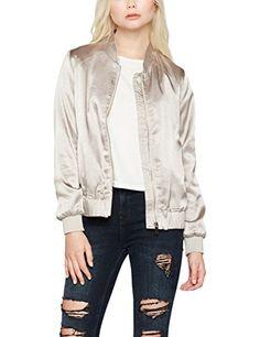 badc68ff2eac New Look Women s Metallic Bomber Jacket  Amazon.co.uk  Clothing. Stile Di  IspirazioneMaglioniGiacche Da DonnaModa