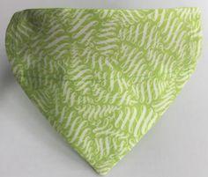 A personal favourite from my Etsy shop https://www.etsy.com/au/listing/507551521/dog-bandana-pet-bandana-greenery