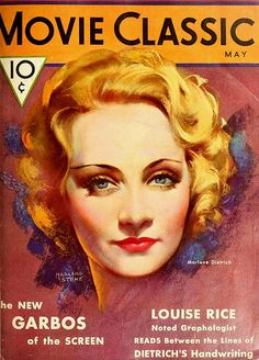 Marlene Dietrich, Movie Classic Magazine, May 1932   Flickr - Photo Sharing!