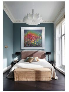 Example of a Leanne Christie painting in situ #gorgeous