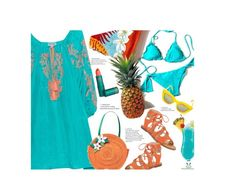 """""""Tiki and Tropical'"""" by dianefantasy ❤ liked on Polyvore featuring Dolce Vita, Juliet Dunn, TIKI, Quay, Kate Spade, Lipstick Queen, polyvorecommunity and polyvoreeditorial"""