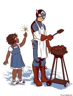 Captain America by Erica Henderson