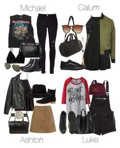 """""""Warped Tour Outfits"""" by fivesecondsofinspiration ❤ liked on Polyvore"""