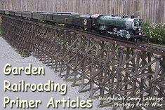 Live Steam Models, Garden Railings, Model Trains, Toy Trains, Garden Railroad, Building Front, Family Garden, Small Space Gardening, Garden Boxes