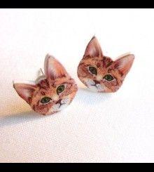Σκουλαρίκια γατάκια