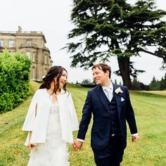 This couture dress paired with a classic modern jacket has us in love. Photography by Country House Wedding Venues, Luxury Wedding Venues, Hedsor House, Georgian Mansion, Couple Portraits, Backdrops, Wedding Day, London, Couture