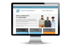 Trusted Professionals website design @satcreative