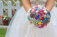 DIY handmade bridal bouquet, wedding bouquet candy colors, rainbow-colored bouquet, colorful bouquets, wedding decorations, Candy Bouquet
