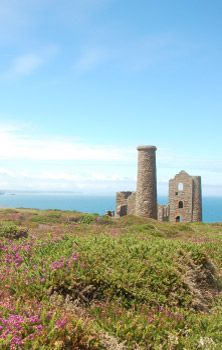 Mine Houses, St Agnes, Cornwall