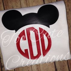 Boys Mickey Mouse Shirt, Disney Monogrammed Shirt, Vinyl Shirt, Disney Cruise, Disney Hat Shirt for kids, Personalized