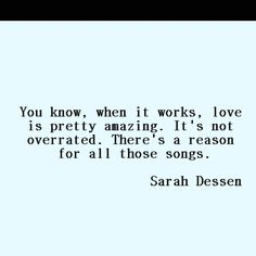 sarah dessen. -this lullaby, reading this again!