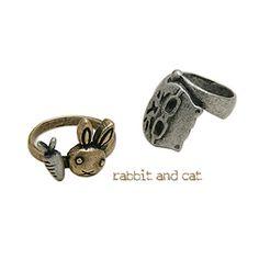 rabbit & cat (SP642)[2Type4Color]