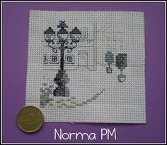 Las miniaturas de Norma: Punto de Cruz