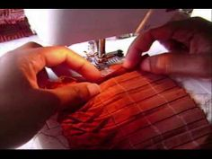 ▶ Mexican Pleating Tutorial by MissPrettyPerfect - YouTube