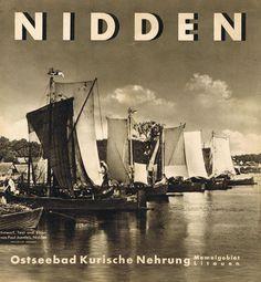 1936 NIDDEN Ostseebad Kuhrische Nehrung Memelgebiet Klaipėdos kraštas