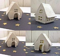 Haus aus Modelliermasse