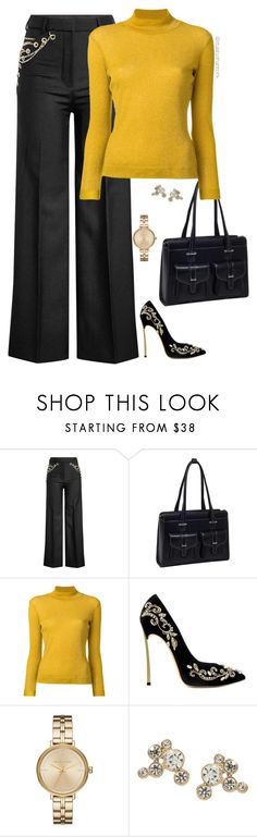 """Office Fashion"" by stylebyshannonk on Polyvore featuring Y/Project, McKleinUSA, Golden Goose and Michael Kors"