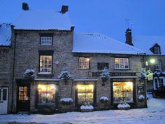 Helmsley, Yorkshire, UK - wintertime