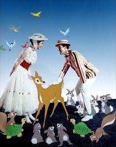 Mary Poppins (Robert Stevenson, 1964) Ok, necesito ver esta película pero YA!