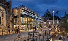 Duke University's West Campus Union by Grimshaw in Durham, North Carolina. Photo © James Ewing.