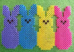 Easter Peeps perler beads by Shayla B. - Perler® | Gallery http://mistertrufa.net/librecreacion/culturarte/?p=12