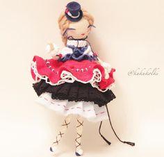Little Treasures: Crochet Dream Dolls - kukukolki