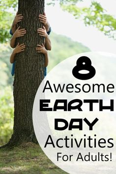 8 Eco-Activities for Earth Day for Adults- There are a ton of suggestions for celebrating Earth Day with kids out there. Here's some earth day adult ideas!