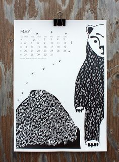 """""""May Be We Come Upon"""" by Ossi Laine, for May in calendar 13."""