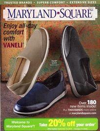 Maryland Square Shoe Catalog   Square