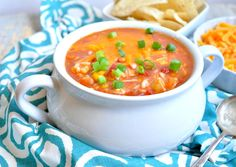 Short-Cut Mexican Chicken and Rice Soup - The Seasoned Mom