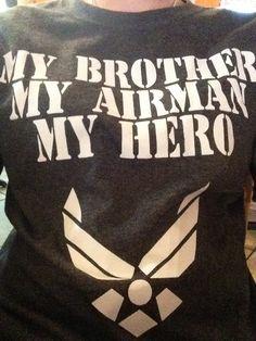Cute air force shirt...