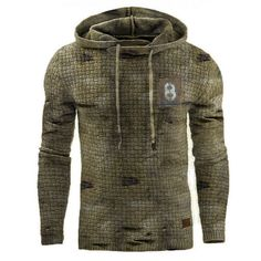 Retro Mens outdoor sports fitness hooded sweater - blaroken.com Tactical Wear, Tactical Jacket, Outdoor Wear, Outdoor Outfit, Casual Jeans, Men Casual, Sweat Shirt, Retro, New Casual Fashion